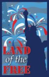Land Of The Free With The Statue Of Liberty Garden Flag Decorative Flag - 28