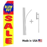 Blowout Sale Econo Stock Flag